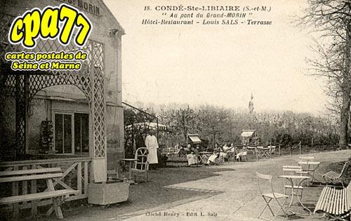 Condé Ste Libiaire -