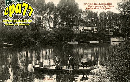 Condé Ste Libiaire - Un Bon coup de Pêche - Restaurant Guichard