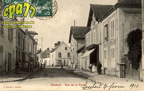 Coubert - Rue de la Poste