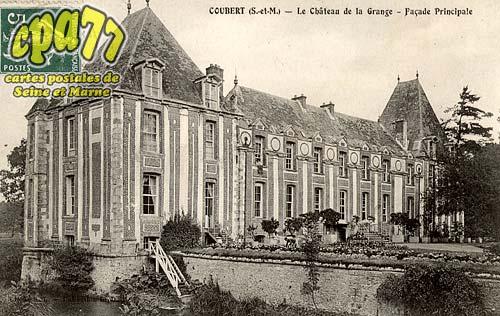 Coubert - Le Château de la Grange - Façade Principale