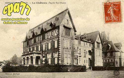 Coubert - Le Château (Façade Sud-Ouest)
