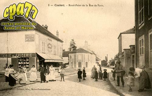 Coubert - Rond-Point de la Rue de Paris