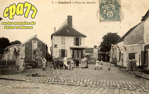 Coubert - Place du Marché