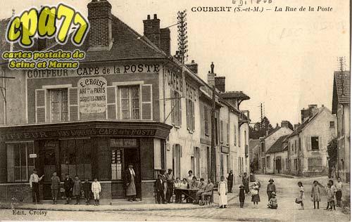 Coubert - La Rue de la Poste