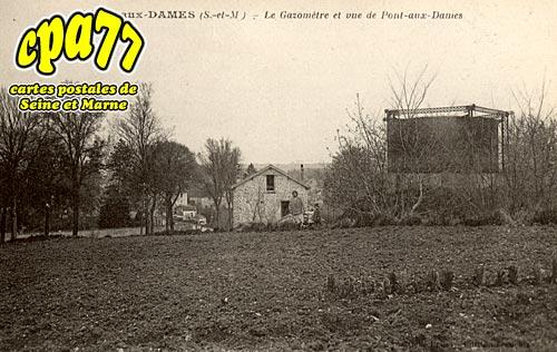 Couilly Pont Aux Dames - Le Gazomètre et vue de Pont-aux-Dames