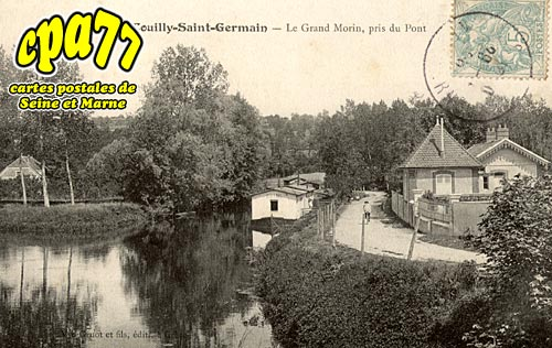 Couilly Pont Aux Dames - Le Grand Morin, pris du Pont