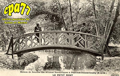Couilly Pont Aux Dames - Maison de Retraite des Artistes Dramatiques - Le petit Pont