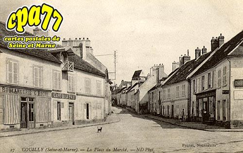 Couilly Pont Aux Dames - La Place du Marché