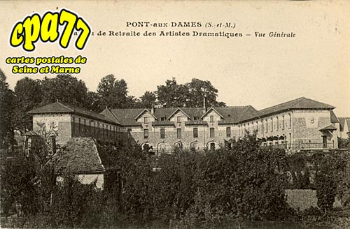 Couilly Pont Aux Dames - Maison de Retraite des Artistes Dramatiques - Vue générale