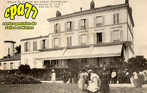 Couilly Pont Aux Dames - Maison de Retraite des Artistes Dramatiques - Administration - Vue sur le Parc