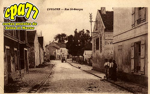 Coulombs En Valois - Rue St-Georges