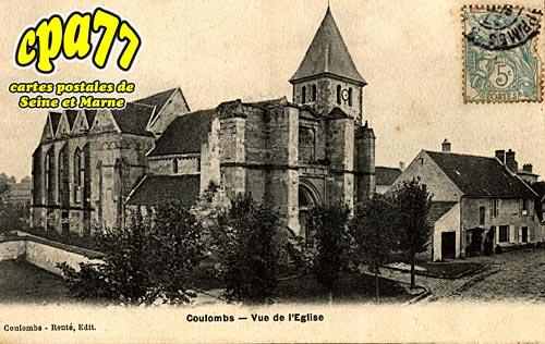 Coulombs En Valois - Vue de l'Eglise