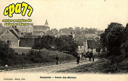 Coulombs En Valois - Route des Moriots