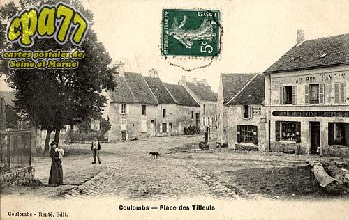 Coulombs En Valois - Place des Tilleuls