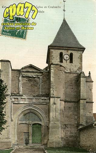 Coulombs En Valois - Eglise de Coulombs - Portail du XV°siècle