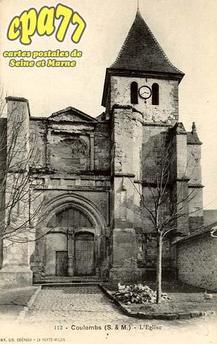 Coulombs En Valois - L'église