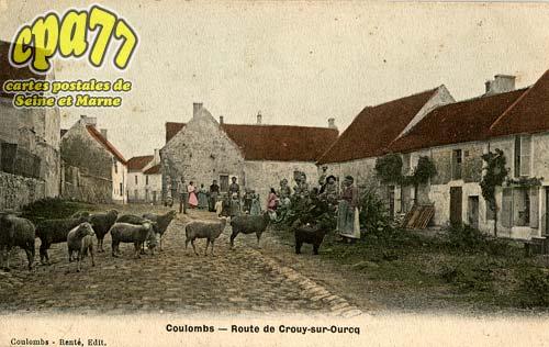 Coulombs En Valois - Route de Crouy-sur-Ourcq