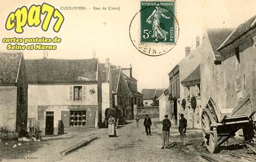 Coulombs En Valois - Rue de Crouy