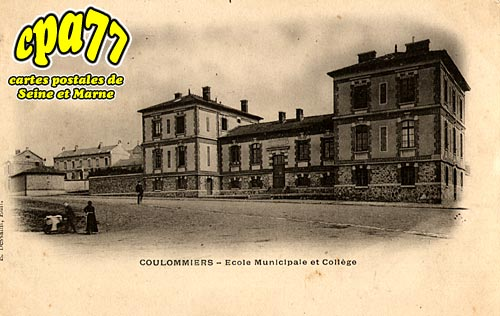 Coulommiers - Ecole Municipale et Collège