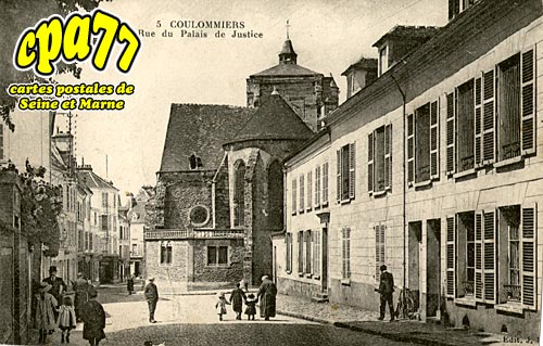 Coulommiers - Rue du Palais de Justice (en l'état)