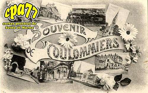 Coulommiers - Souvenir de Coulommiers