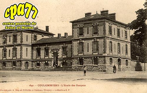 Coulommiers - L'Ecole des Garçons
