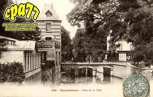 Coulommiers - Pont de la Ville