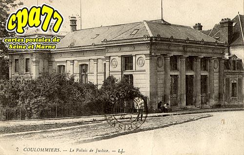Coulommiers - Le Palais de Justice