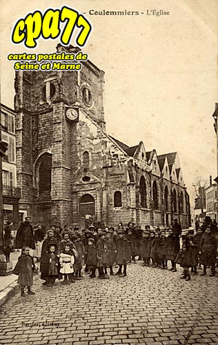 Coulommiers - L'Eglise