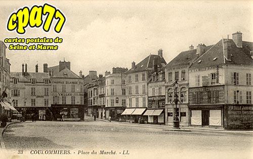 Coulommiers - Place du marché