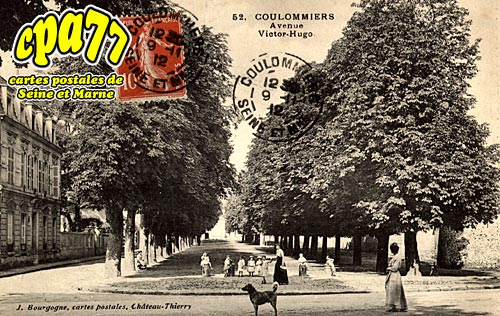 Coulommiers - Avenue Victor-Hugo