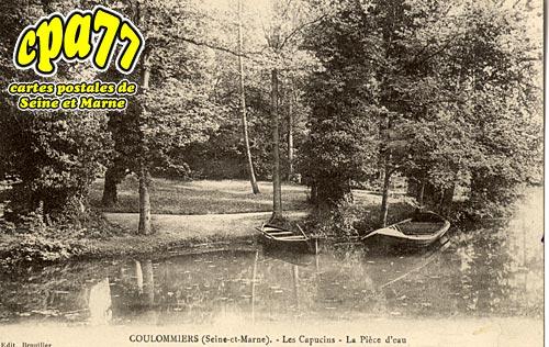 Coulommiers - Les Capucins - La Pièce d'eau
