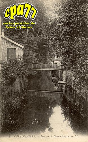 Coulommiers - Vue sur le Grand Morin