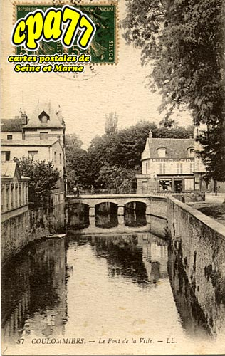 Coulommiers - Le Pont de la Ville