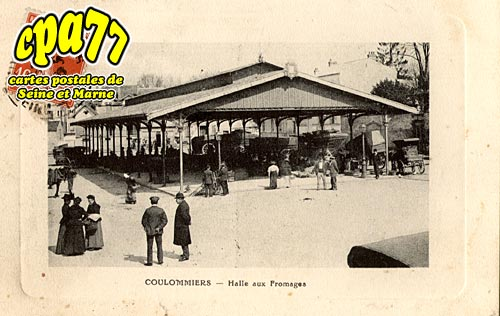 Coulommiers - Halle aux Fromages