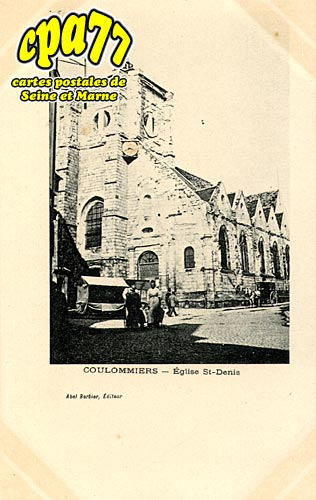 Coulommiers - Eglise st-Denis