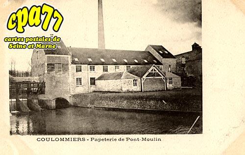 Coulommiers - Papeterie de Pont-Moulin