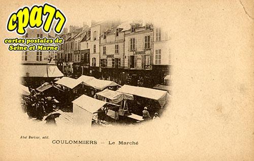 Coulommiers - Le Marché