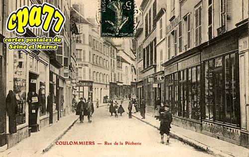 Coulommiers - Rue de la Pêcherie