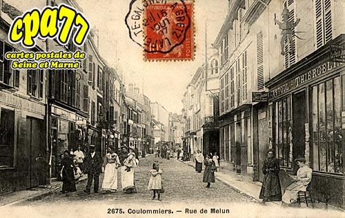 Coulommiers - Rue de Melun