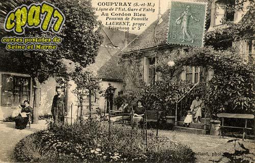 Coupvray - Au Cordon Bleu - Pension de Famille - Laurent, propr. Téléphone n°5