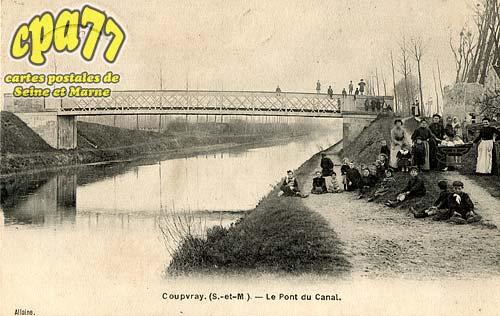 Coupvray - Le Pont du Canal