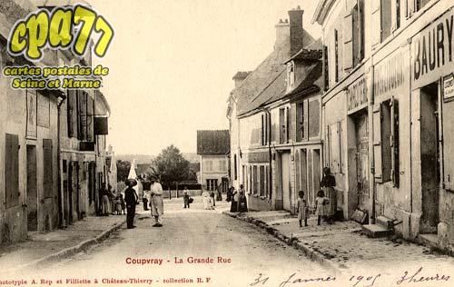 Coupvray - La Grande Rue