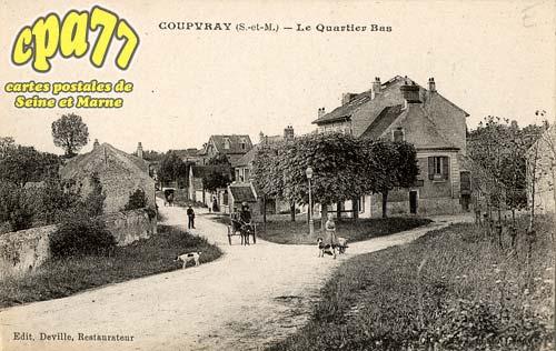 Coupvray - Le Quartier Bas