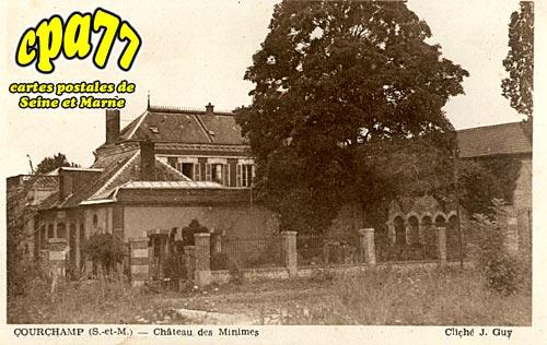 Courchamp - Château des Minimes