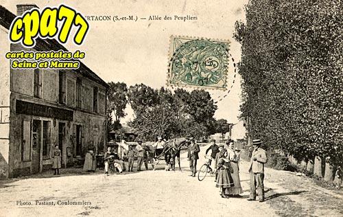 Courtacon - Allée des Peupliers