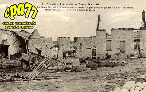 Courtacon - L'Invasion allemande - Septembre