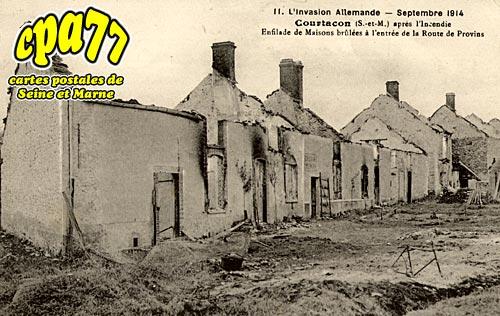 Courtacon - L'Invasion allemande - Septembre 1914