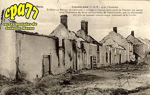 Courtacon - Bataille de la Marne - Septembre 1914