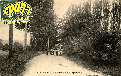 Courtry - Route de Villeparisis